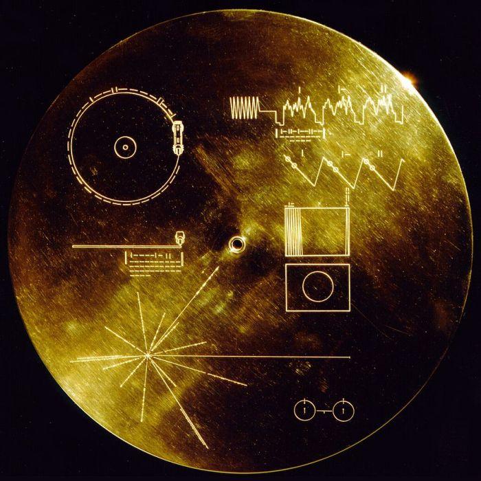 Placa enviada com a Voyager